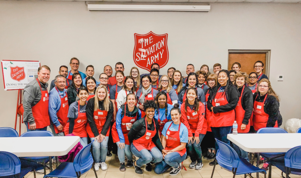 Salvation Army Charity Event